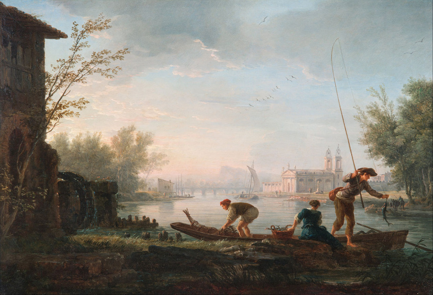 Claude-Joseph Vernet - The four times of day- Morning
